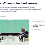 Der Uber-Moment im Bankenwesen (NZZ)